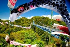 茨城の新緑をめぐるバスの旅(花貫~袋田~竜神大吊橋)