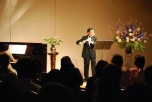 「春の感謝祭」岡村考二フルートコンサート閉幕
