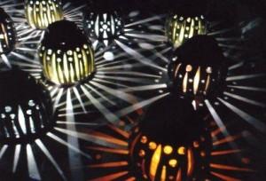 袋田の滝 ライトアップとランプシェードの光の演出