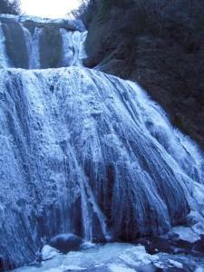 袋田の滝が凍りました!!!