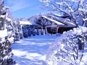 思い出浪漫館 雪景色