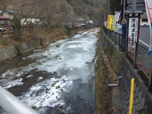 1月15日(土)の冬の袋田の滝