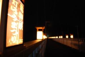 【常陸太田市】『第14回 竜神峡灯ろうまつり』