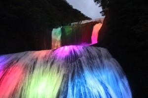 パワーアップ!2013秋・冬の袋田の滝ライトアップ!!