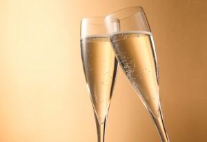 2人で過ごすX'mas☆スパークリングワインで乾杯