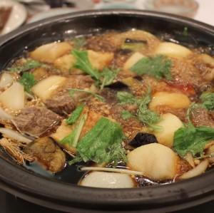 新料理!「大正浪漫 懐かしさを感じる常陸牛の牛鍋」
