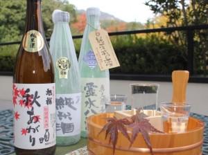 大人気!!純米酒3種類呑みくらべ 『利き酒プラン』