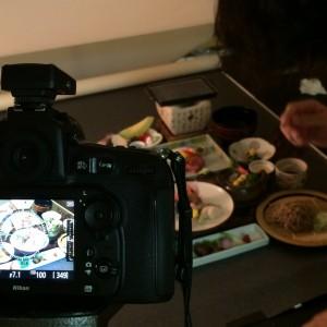 思い出浪漫館 秋~冬の団体料理写真の撮影を行いました。