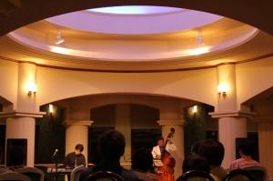 袋田温泉 思い出浪漫館 『仲野亜紀子様 JAZZ生演奏ライブ』初日が終了いたしました。