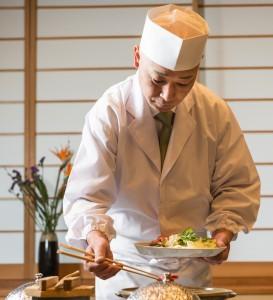 袋田温泉 思い出浪漫館 春のお料理試作会を行いました。