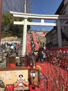 袋田温泉 思い出浪漫館 ひな祭りに行ってきました