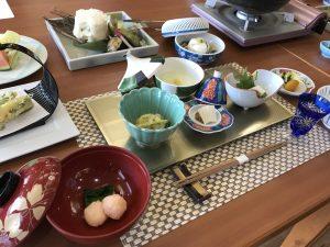 袋田温泉 思い出浪漫館 4月の料理説明会を行いました。