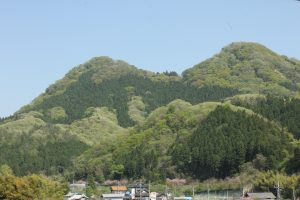 袋田温泉 思い出浪漫館 新緑の季節です
